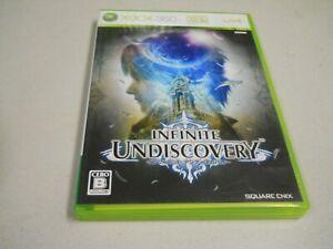 Infinite Undiscovery no benefits 360 square Enix Microsoft Xbox 360 JP Import