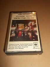 GREATEST CLASSIC HITS FROM THE FILMS ~ RARE CASSETTE UK RELEASE 1974 EXCELLENT