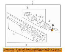 SUBARU OEM 04-06 Baja Drive Axles-Front-Inner Boot Band 28024FC030