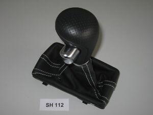 Audi A4 8K A5 Q5 8R S4 S5 S-LINE Leather Gear Knob Stick Automatic SH112