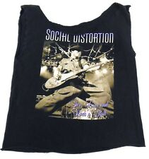 Altered Social Distortion Summer 2005 & US Concert Tee Sex Love & Rock n Roll