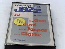Giants of Jazz 20 - Getz, Byrd, Jaspar, Clarke - Cassette - SEALED