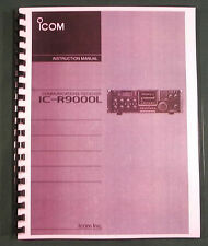 Icom IC-R9000L Instruction manual - Premium Card Stock Covers & 28 LB Paper!