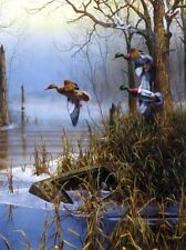"""After the Thaw By Jim Hansel Duck Hunting  Print Image Size 12"""" x 16"""""""
