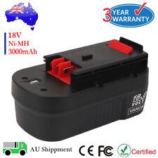 Battery For Black Decker 18V 3.0Ah NiMH HPB18 A1718 FS18BX FSB18 A18 244760-00