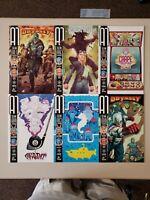A1 1 2 3 4 5 6 Titan Comics July 2013 Complete Set Series Run Lot 1-6 VF/NM