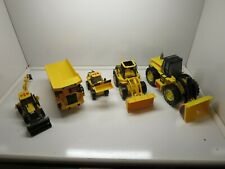 Lot ( 5 ) Toy State Industrial Caterpillar Toys With Lights , Sound & Movement