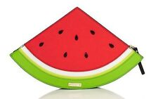 Kate Spade Splash Out Watermelon Clutch NWT Perfect Summer Stunner! Leather