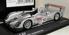 Minichamps 1/43 Scale 400 031310 Audi R8 24H Le Mans 2003 #10 Diecast model car
