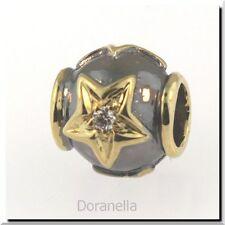 Authentic Trollbeads 18K Gold 31809 Stars, Gold & Diamond :0