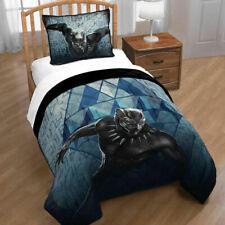 BUNDLE Marvel Black Panther Bed Twin QUILT/SHAM Super Hero