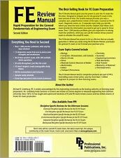 FE Review Manual: Rapid Preparation for the General Fundamentals of Engineering