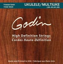 Godin Saiten für/strings for Godin MultiUke Ukulele