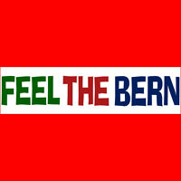 FEEL THE BERN Bumper Sticker  BUY 2 GET 1 FREE  Free S&H