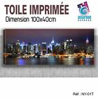 100x40cm -TOILE IMPRIMEE- TABLEAU DECORATION MURALE- NEW YORK-NY-01T