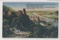 Heidelberg von der Terrasse nach Willmann Mit MiNr 99
