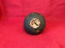 CIVIL WAR CONFEDERATE ARTILLERY 12 POUNDER CANNON BALL WITH BORMANN FUSE