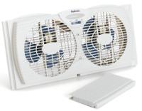 Holmes Twin Window Fan With Reversible Air Flow Control HAWF2021-N Quiet Mode