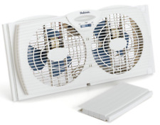 Holmes Twin Window Fan With Reversible Air Flow Control HAWF2021-N Quiet Mode