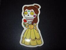 BELLE Beauty Beast disney MUERTO Art Sticker Print DIA DE LOS JOSE PULIDO
