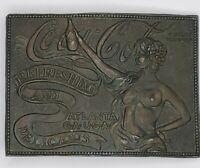 Vintage Brass Coca-Cola Belt Buckle