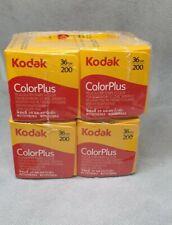 Kodak ColorPlus 200 36 Exp. 35mm Color Film (4 ROLLS) Exp. Date: 09/2016