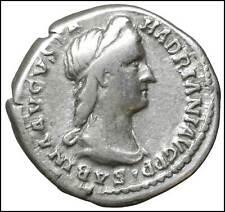 SABINA  DENARIO IN ARGENTO MONETE ANTICHE IMPERO ROMANO DENARIUS ROMAN COINS