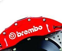4 Pegatinas sticker brake tuning aufkleber frenada pinzas brembo 10 cm
