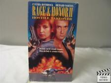 Rage and Honor 2: Hostile Takeover VHS Cynthia Rothrock, Richard Norton