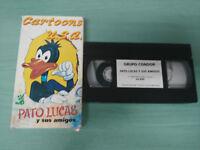 Duck Lucas Y Friends Cartoons USA 60 Min - VHS Tape Spanish