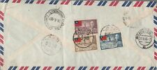 China Taiwan 1953 registered airmail cover to Germany