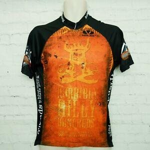 Voler cycling jersey Horribly Hilly Hundreds 2008 Black Orange Medium M
