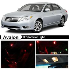 13x Red Interior Map Dome LED Lights Package Kit for 2005-2012 Toyota Avalon