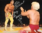 Ricky Steamboat Signed WWE 11x14 Photo BAS Beckett COA WCW vs Ric Flair Picture