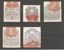 Victorian (1837-1901) British Fiscal & Revenue Stamps