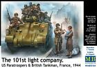 (MAS35164) - Masterbox 1:35 - The 101st lig ht company. US Paratroopers &