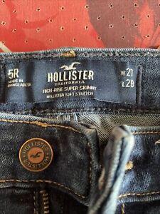 Hollister W27 High-Rise Super Skinny