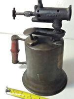 Vintage Blow Torch - The Turner Brass Works metal blow torch. Steampunk
