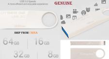 GENUINE KINGSTON USB 3.0 flash drive pen key metal Stick PENDRIVE 16GB 32GB 64GB