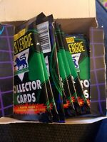 SEALED PACKS Merlin's Premier League Collector Cards (1996)