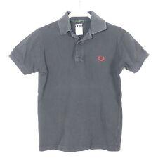 FRED PERRY Polo-Shirt T-Shirt Kragen Blau Navy Gr. 10Y 140