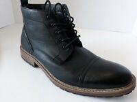 Perry Ellis America Manning Black Shoes Men's Size US 12