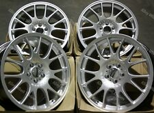 "Alloy Wheels 18"" CH For 5x100 VW Bora Corrado Golf Mk4 Beetle Polo Silver"