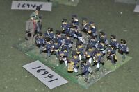 25mm napoleonic / prussian - infantry 25 figs - inf (16941)
