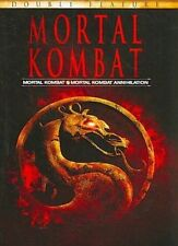 Mortal Kombat 1 & 2 Annihilation DVD 1995 Christopher Lambert VGC