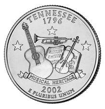 2002 D Tennessee State Quarter BU