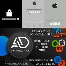 Déblocage Macbook Pro Air Mini iMac ICloud EFI Unlock Remove | lire description