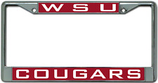 WSU Cougars License Plate Frame