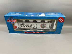Atlas 9141-9 O 40' Wood Reefer Car Coors #5413 (2 Rail) w/ Box