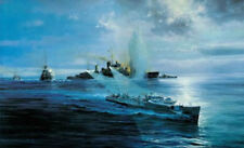 Night Attack On The Newcastle by Robert Taylor German E-boat